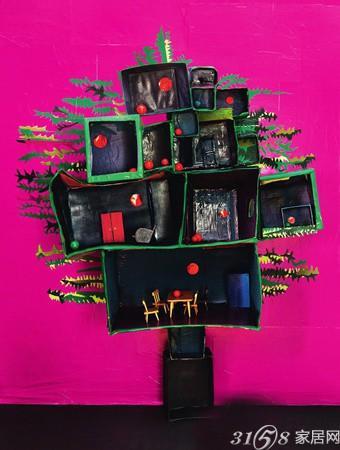 5款时尚创意手工圣诞树推荐