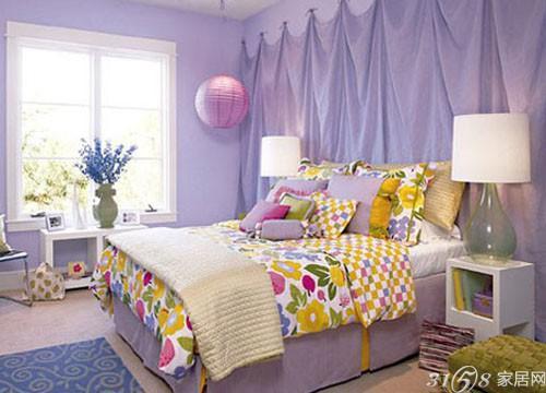 最美卧室墙壁颜色装修效果图