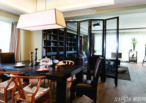 客厅屏风隔断效果图二 客厅屏风隔断效果图 古朴典雅带来高清图片