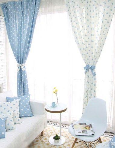 海量客厅阳台窗帘效果图 多图