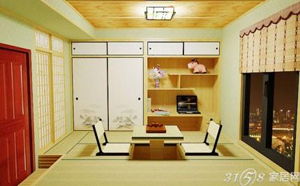 缘和榻榻米 纯实木演绎正宗和室style