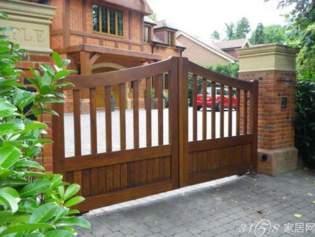 欧式庭院门头设计