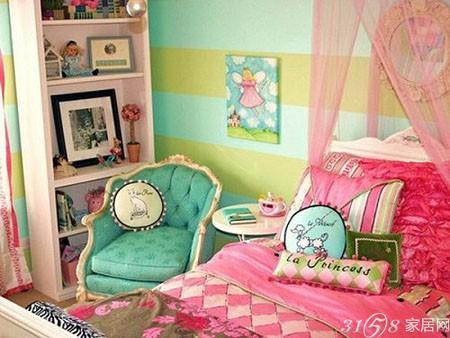 2014最全女孩儿童房装修效果图(组图)