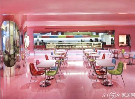 最时尚冰淇淋店装修效果图