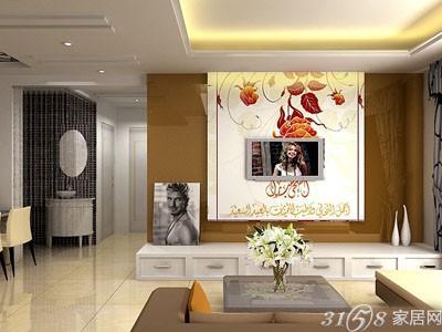 3d电视背景墙壁纸效果图-手机3158招商加盟网