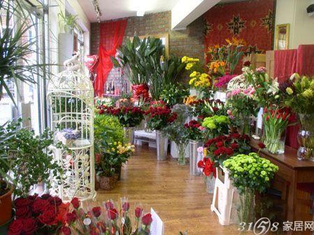 花店装修效果图 唯美温馨的装修设计