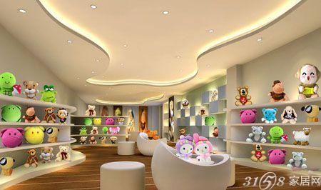 玩具店装修效果图 设计新颖时尚