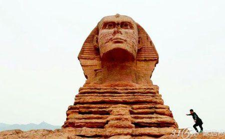 如同穿越到埃及   按照1:1仿造的