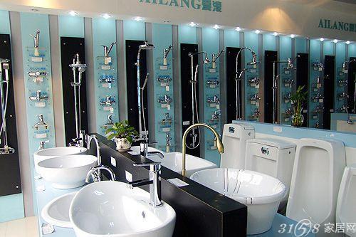 卫浴专卖店面装修效果图赏析