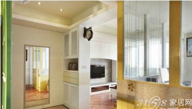 刀把型客廳裝修效果圖 舊屋翻新重裝修案例