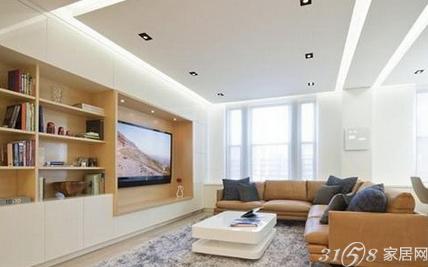 欧式客厅电视背景墙精品家装的典范