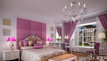 欧式床头背景墙装修效果图大放送