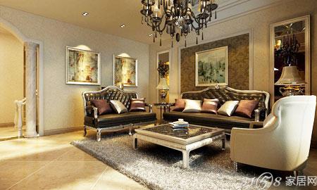 看懂欧式沙发背景墙效果