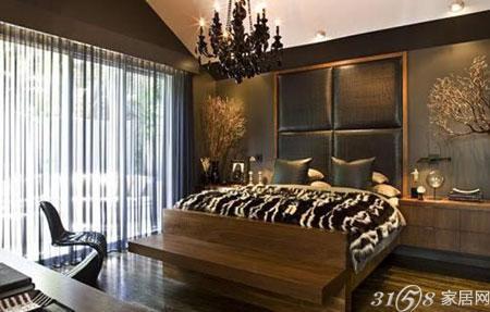 欧式床头背景墙装修效果图大放送图片
