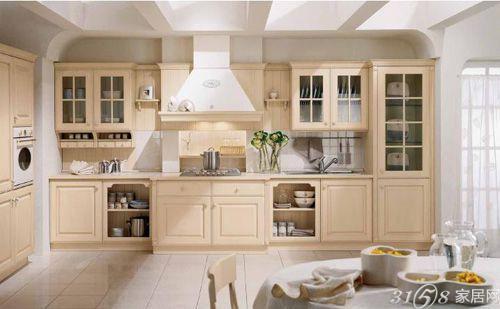 """欧式厨房装修效果图 最美的视觉""""享受"""""""