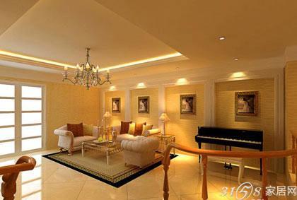 看懂欧式沙发背景墙效果-3158家居网
