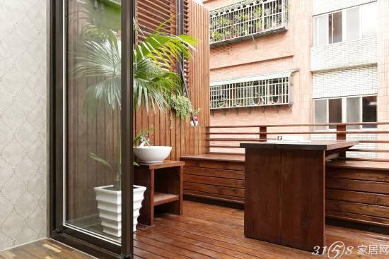 欧式阳台装修效果图 让阳台变得更时尚