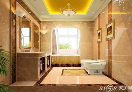 欧式卫生间装修效果图精看