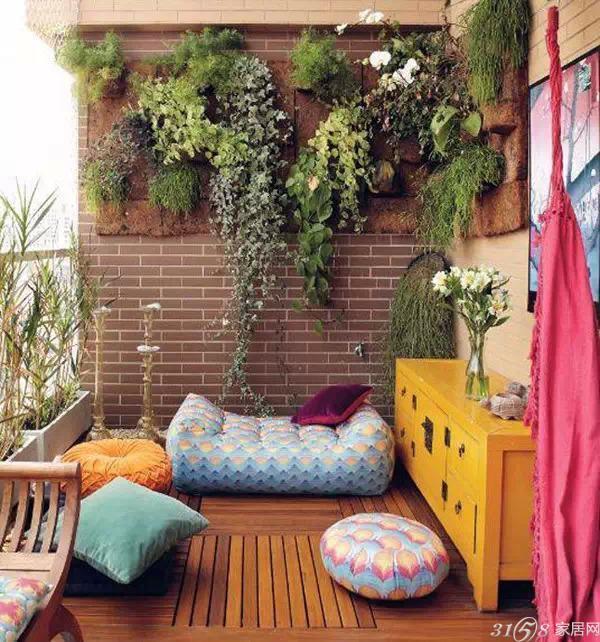 陽臺裝修小花園案例,跟著小編的腳步一起來看看吧