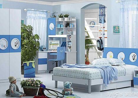 儿童房如何装修 20个创意国外儿童房小书房卧室一体装修设计案例
