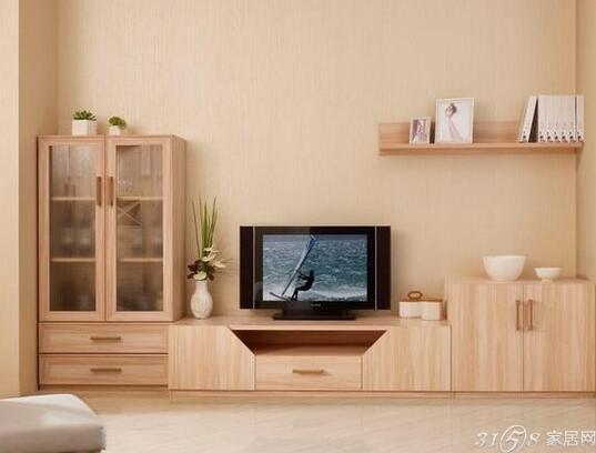 """将储物柜改造成电视柜,原来的储物柜子一共有五个""""洞"""",每个都可以在"""