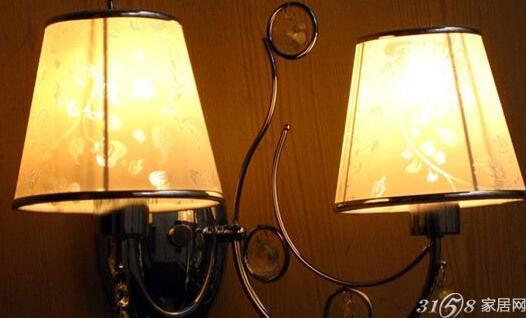 床头壁灯安装接线图