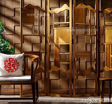 中式屏风门设计效果图欣赏 最新中式屏风门设计大全高清图片