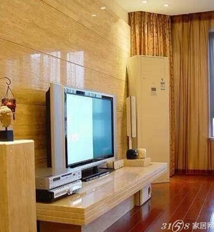 盘点2015年欧式客厅大理石电视背景墙效果图