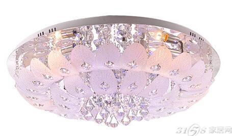 水晶吸顶灯安装方法介绍