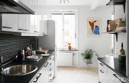 小户型厨房装修实例,交换空间小户型厨房装修