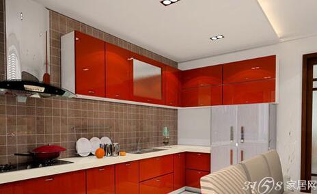 欧式开放式厨房 现代感十足