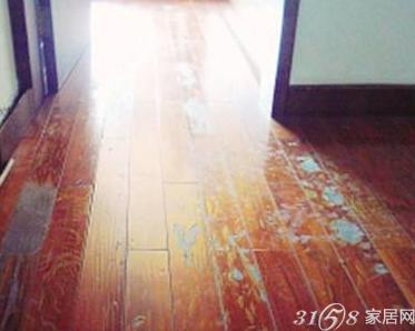 木地板磨花了也可修补吗