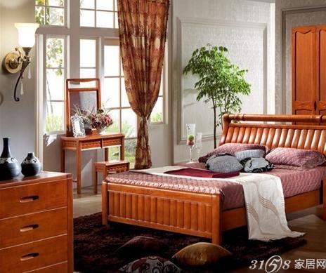 60㎡低调简约两居室 实木家具看起来就是舒服!