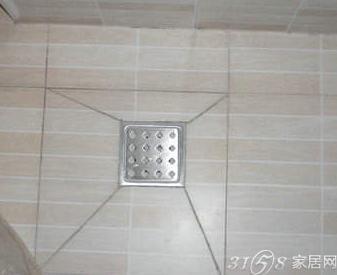 卫生间是先铺砖还是先安装地漏?地漏什么时候安装?