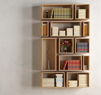 在家如何制作客厅书架