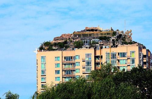 苏州空中园林堪比北京楼顶别墅