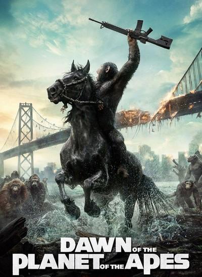 猩球崛起2宣传海报