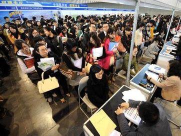 2014江苏大学生就业率女生逆袭男生