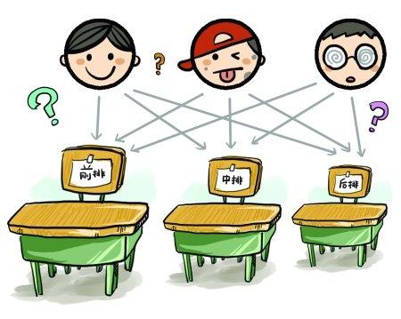 新生开学家长难淡定 分班排座样样纠结
