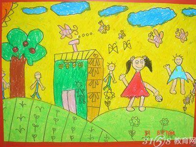 庆祝六一儿童节的画有哪些