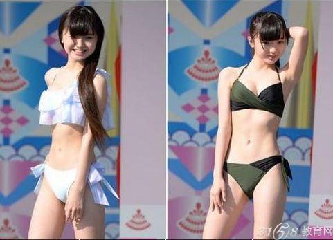 日本小学生女团走红 年仅12岁走清纯性感风
