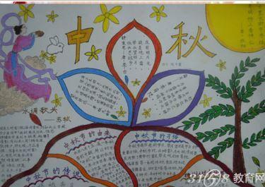 中秋节祝福语有哪些 中秋节的诗句有哪些 中秋节手抄报资料大全