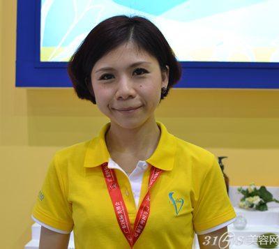 39届美博会专访:台湾美容连锁加盟机构VIVI SPA吴凡佳