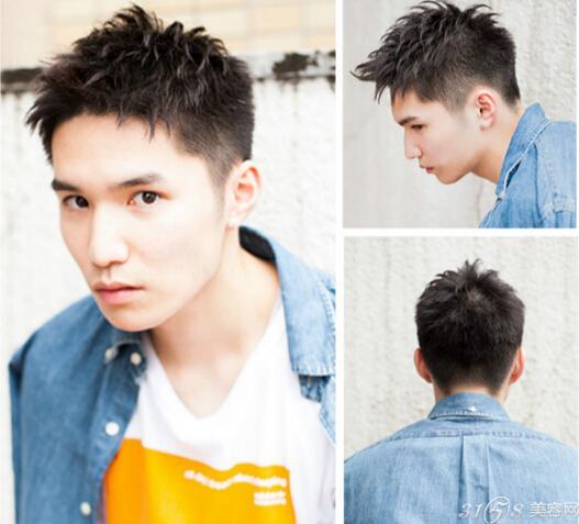 两边头发剃掉男生发型内容两边头发剃掉男生发型图片
