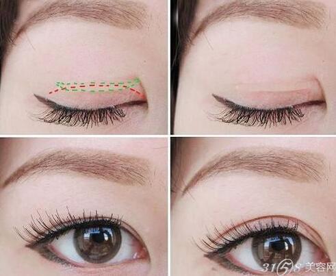 双眼皮贴用法 拯救小单眼肉泡眼