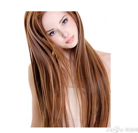 长头发怎么护理图片
