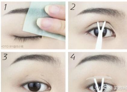 双眼皮贴怎么贴最美?