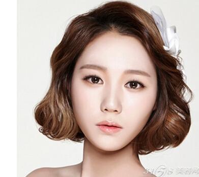 韩式短发新娘发型 准新娘不要错过