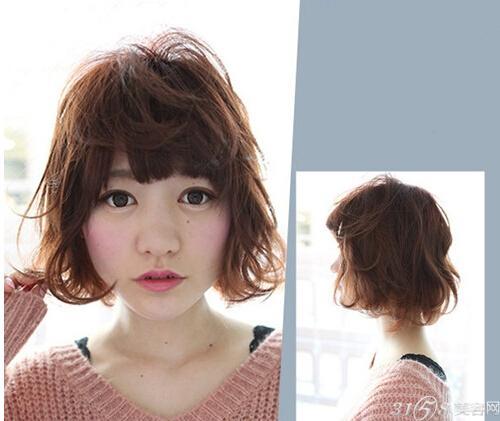韩式短发烫发发型 让你年轻一倍