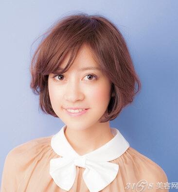 发量少适合发型?-3158v发型网短发给好看怎样扎学生头发的图片